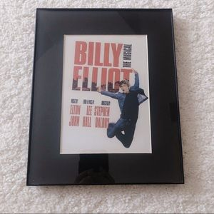 Billy Elliot Poster in Frame